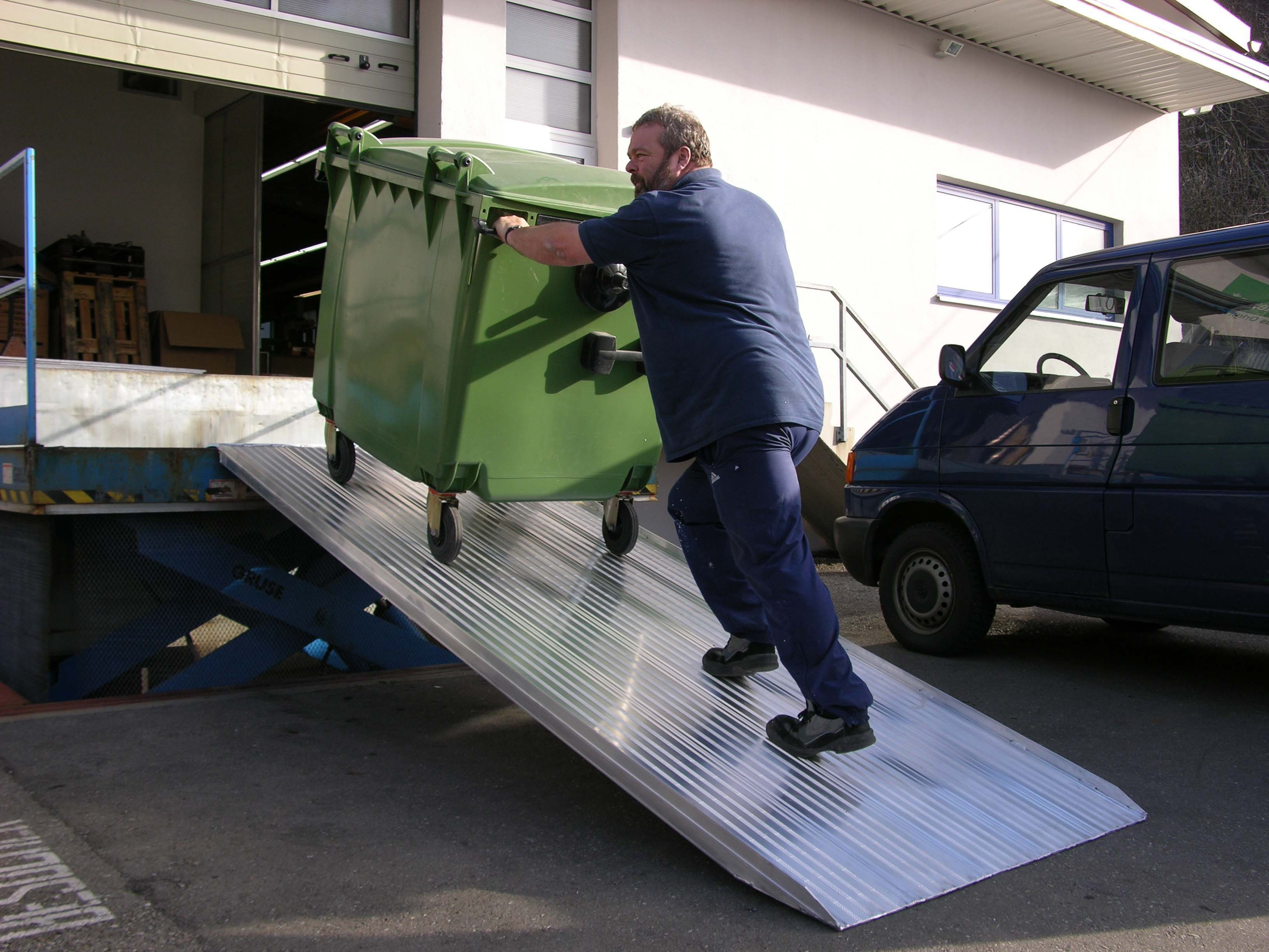 Van Ramp 3500mm Long, 500Kg Capacity, 1000mm Wide