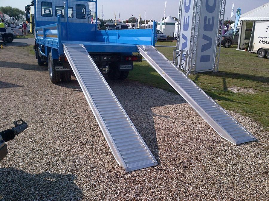 Plant & Vehicle Ramp 2500mm Long, 7100Kg Capacity, 460mm Wide