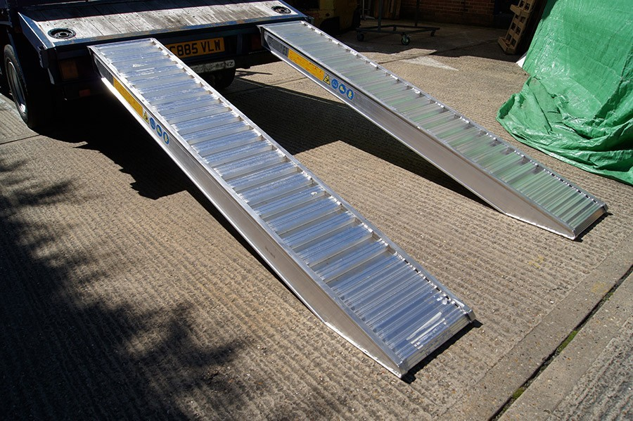 Plant & Vehicle Ramp 3500mm Long, 6950Kg Capacity, 500mm Wide