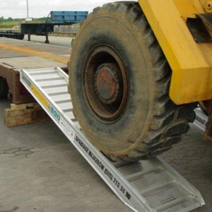 Plant & Vehicle Ramp 3500mm Long, 16900Kg Capacity, 640mm Wide