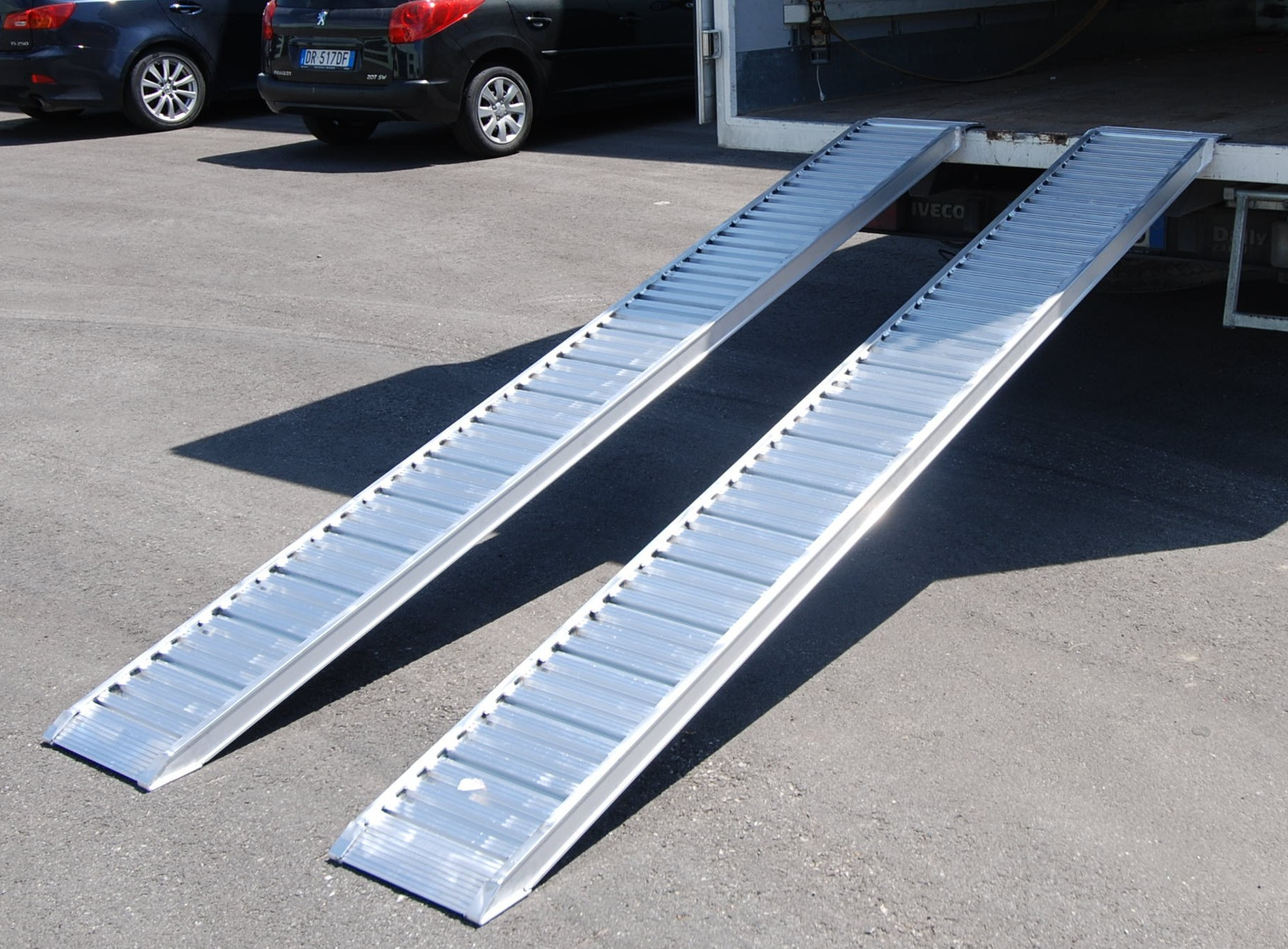 Plant & Vehicle Ramp 3500mm Long, 960Kg Capacity, 310mm Wide