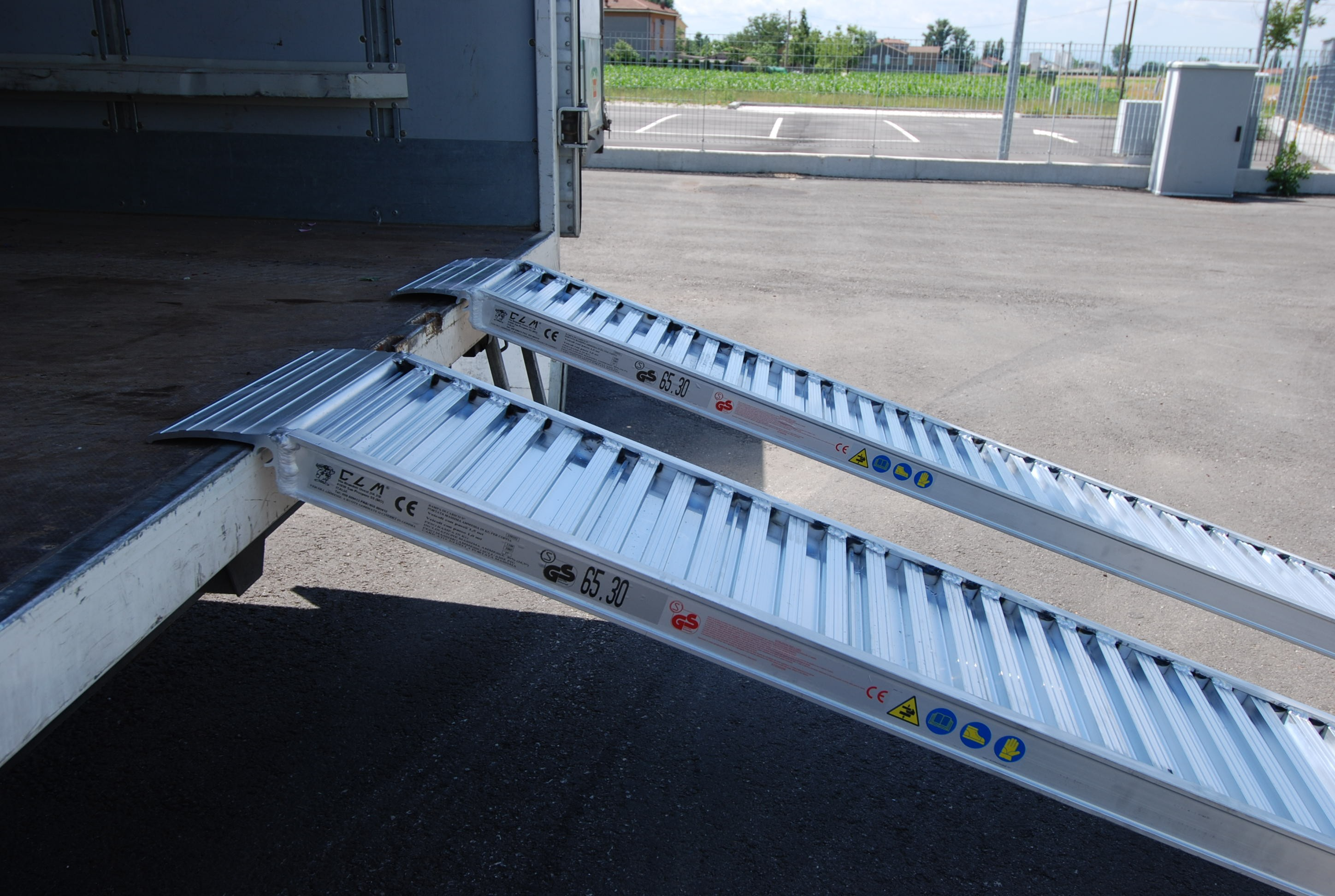 Plant & Vehicle Ramp 2000mm Long, 2250Kg Capacity, 345mm Wide