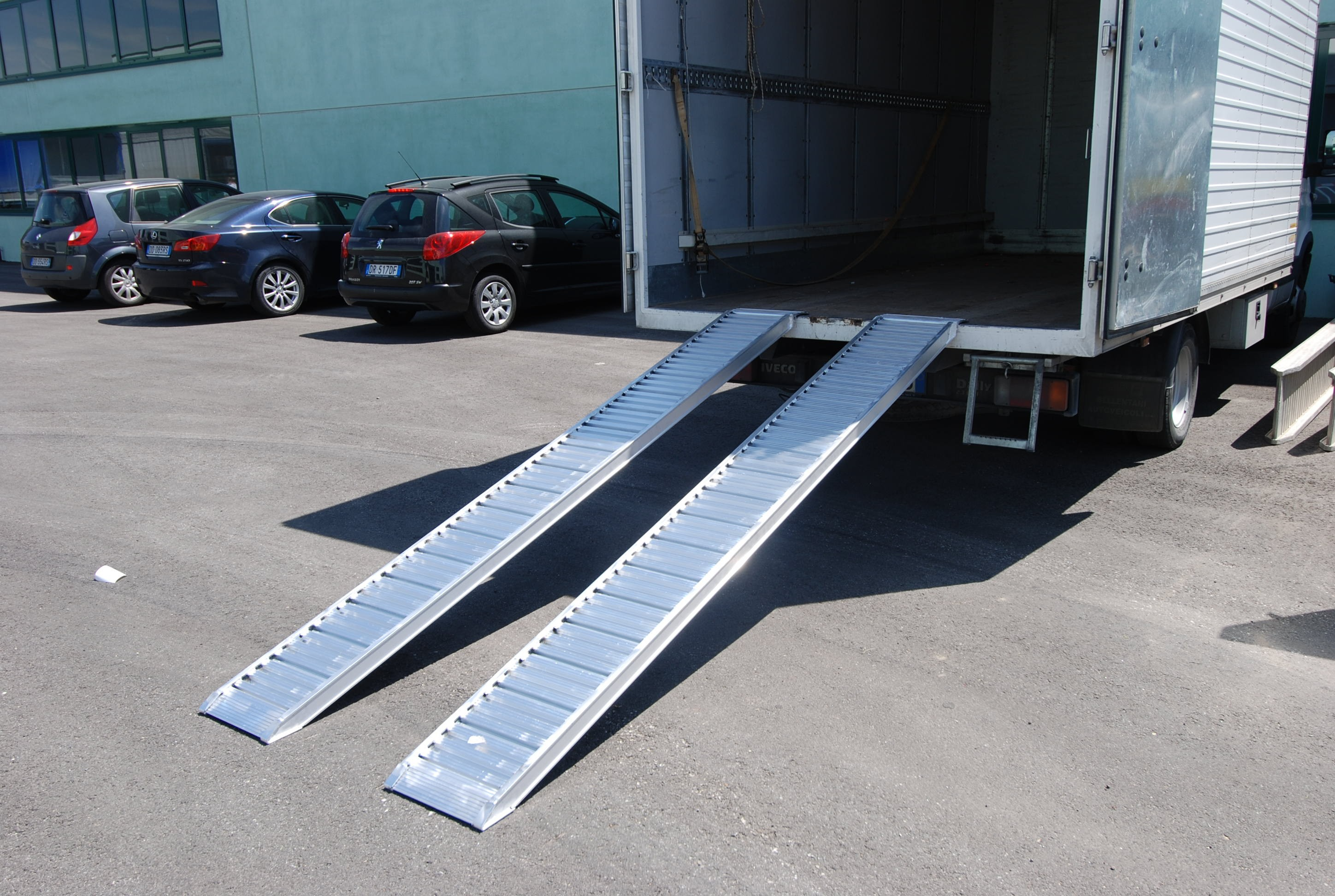 Plant & Vehicle Ramp 3500mm Long, 1000Kg Capacity, 345mm Wide