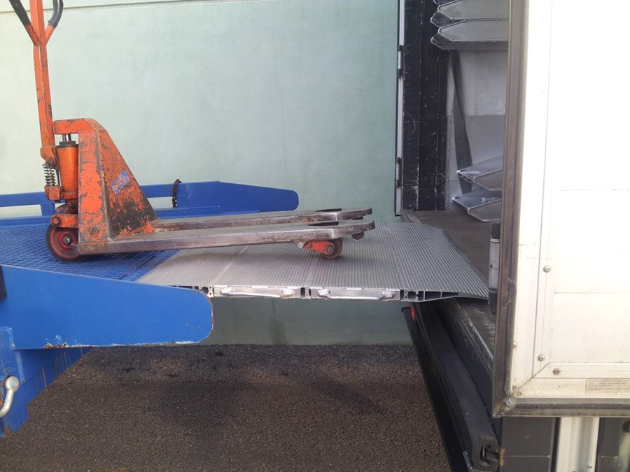 Mobile dock board, Standard, 1500mm length Ramp