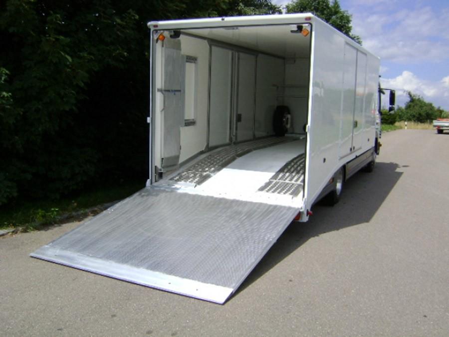 Van Ramp 2400mm Long, 2500Kg Capacity, 2400mm Wide