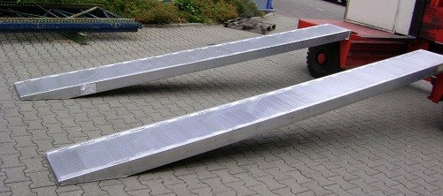 Rigid Loading Ramps,  Length 1500mm Width 470mm  With Curbs one side