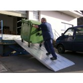 Van Ramp 4000mm Long, 400Kg Capacity, 750mm Wide