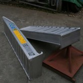 Plant & Vehicle Ramp 2000mm Long, 8000Kg Capacity, 410mm Wide