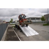 Pont Levis Loading Chute 4500 mm Length Ramp