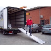 Van Ramp 4000mm Long, 500Kg Capacity, 600mm Wide