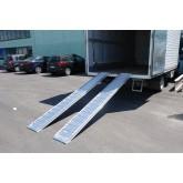 Plant & Vehicle Ramp 3500mm Long, 1000Kg Capacity, 345mm Wide