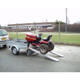 Garden and Motorbike Ramps 1500mm Long, 650Kg Capacity, 260mm Wide