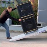Folding Van Ramp 1500mm Long, 800Kg Capacity, 500mm Wide