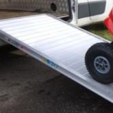 85.2470.100P Rigid Aluminium Van Ramp Length 2470mm Width 1000mm Capacity 550kg