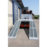Plant & Vehicle Ramp 1250mm Long, 2500Kg Capacity, 560mm Wide